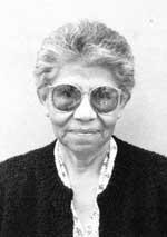 Picture of Elizabeth Naranjo of Santa Clara Pueblo