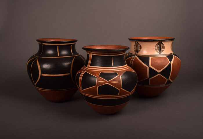 Aguilar Sisters Historic Pottery of Santo Domingo Pueblo