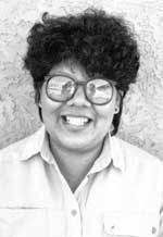 Picture of Inez Ortiz of Cochiti Pueblo