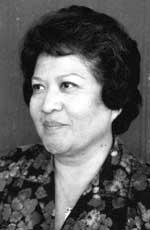 Picture of Iris Youvella Nampeyo of Hopi Pueblo