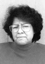 Image of Jean Sahme Nampeyo (1948 – ) Sak'Honsee courtesy of Rick Dillingham: Fourteen Families In Pueblo Pottery.