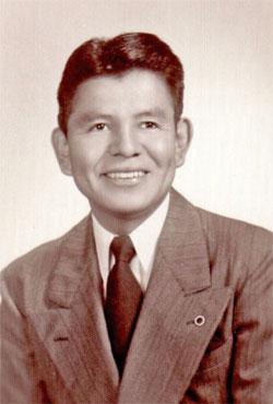 Photo of Author Joe S. Sando by IPTC Photographer