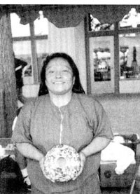 Picture of Karen Abeita of Hopi Pueblo - Photo courtesy of Gregory Schaaf.