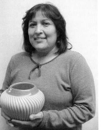Picture of Laura Gachupin of Jemez Pueblo