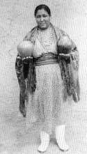 Picture of Legoria Tafoya of Santa Clara Pueblo, New Mexico
