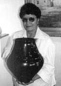 Photo of LuAnn Tafoya courtesy of Gregory Schaaf.  Reference: Pueblo Indian Pottery: 750 Artist Biographies by Gregory Schaaf.