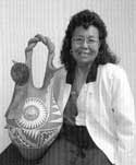 Photo of Mary Small courtesy of Gregory Schaaf (Southern Pueblo Pottery: 2,000 Artist Biographies)