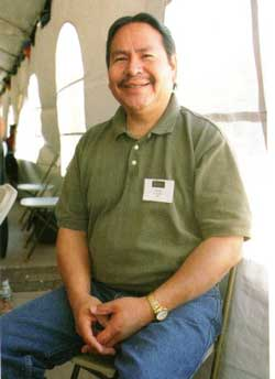 Picture of Preston Duwyenie - Reference: Hopi Katsina: 1,600 Artist Biographies by Gregory and Angie Schaaf.  Artist image courtesy Gregory Schaaf.