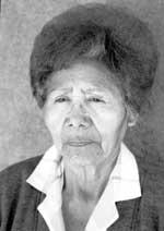 Picture of Reycita Naranjo of Santa Clara Pueblo