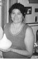 Picture of Sandra Victorino of Acoma Pueblo, New Mexico