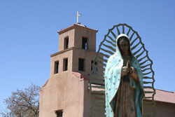 Our Lady of Guadalupe Church Santa Fe, New Mexcio