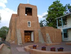 San Miguel Chapel Santa Fe, New Mexico