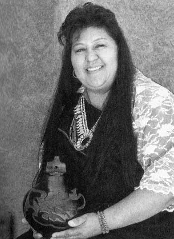 Picture of Sharon Naranjo Garcia of Santa Clara Pueblo
