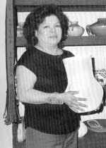 Picture of Stella Shutiva of Acoma Pueblo
