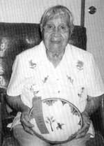 Picture of Vicentita Pino of Zia Pueblo.