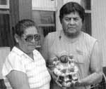Photo of Louis and Virginia Naranjo courtesy of Gregory Schaaf. Refereence: Southern Pueblo Pottery: 2,000 Artist Biographies by Gregory Schaaf.