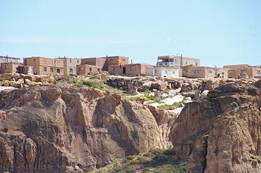 Acoma Pueblo - Sky City.  Image Source Wikipedia.