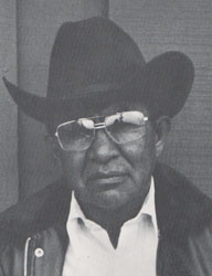 Beatien Yazz (1928-2012) Little No Shirt - Jimmy Toddy.  Source: from the book YAZZ-Navajo Painter.