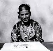 Narciso Platero Abeyta, Ha So De - Fiercely Ascending, Navajo Painter - Photo Source: Wikipedia