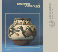 American Indian Art Magazine Volume 16 | Number 4 | Autumn 1991