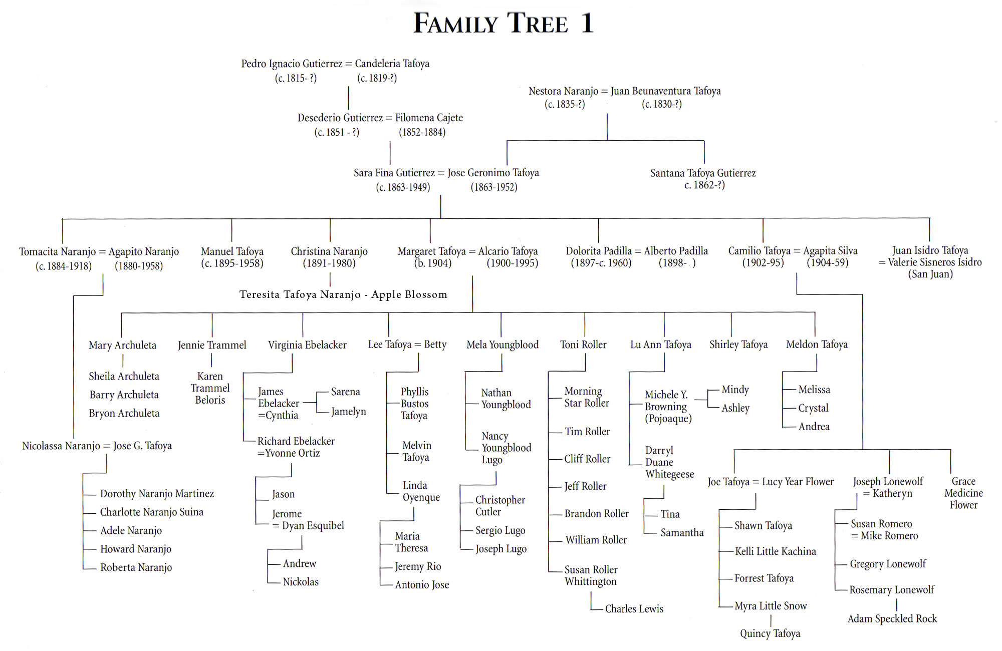 family tree source pueblo indian pottery 750 artist biographies by