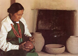 Margaret Tafoya from Santa Clara Pueblo