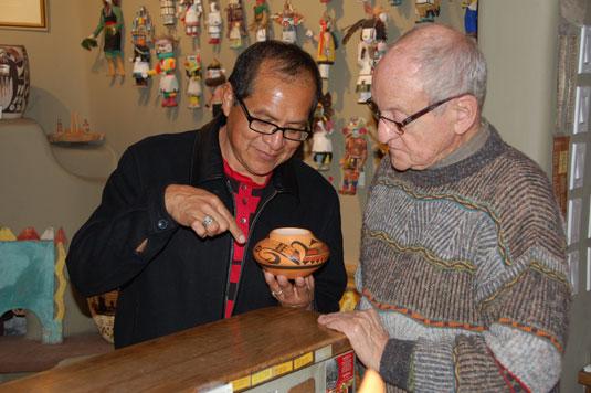 Mark Tahbo (1958 - 2017) Hopi - Tewa - Copyright Adobe Gallery