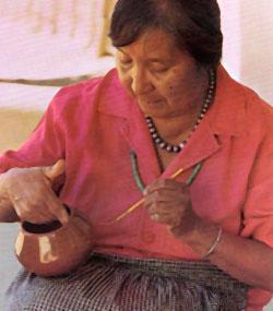Santana Martinez from San Ildefonso Pueblo