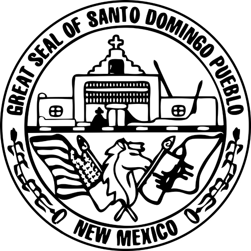 Santo Domingo Seal - Photo Source: Indian Pueblo Cultural Center Website.