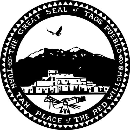 Taos Pueblo Seal - Photo Source: Indian Pueblo Cultural Center Website.