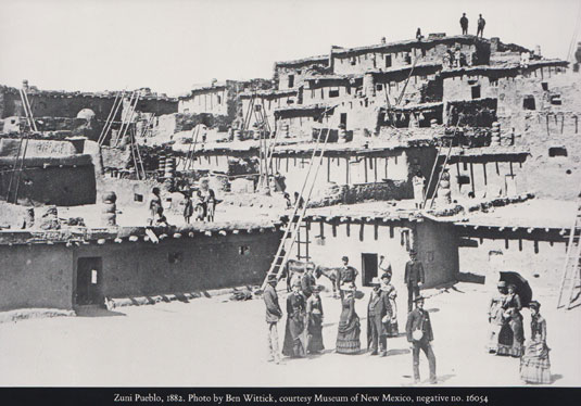 Back of Dust Jacket - Zuni Pueblo