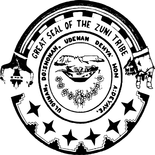 Zuni Pueblo Seal - Photo Source: Indian Pueblo Cultural Center Website.